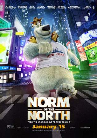 Norm Of The North 2016 BluRay 300MB Hindi Dual Audio 480p Watch Online Full Movie Download bolly4u