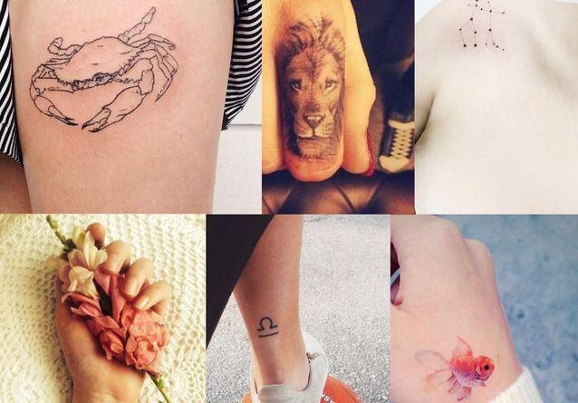 signe astrologique-tatouage féminin-1