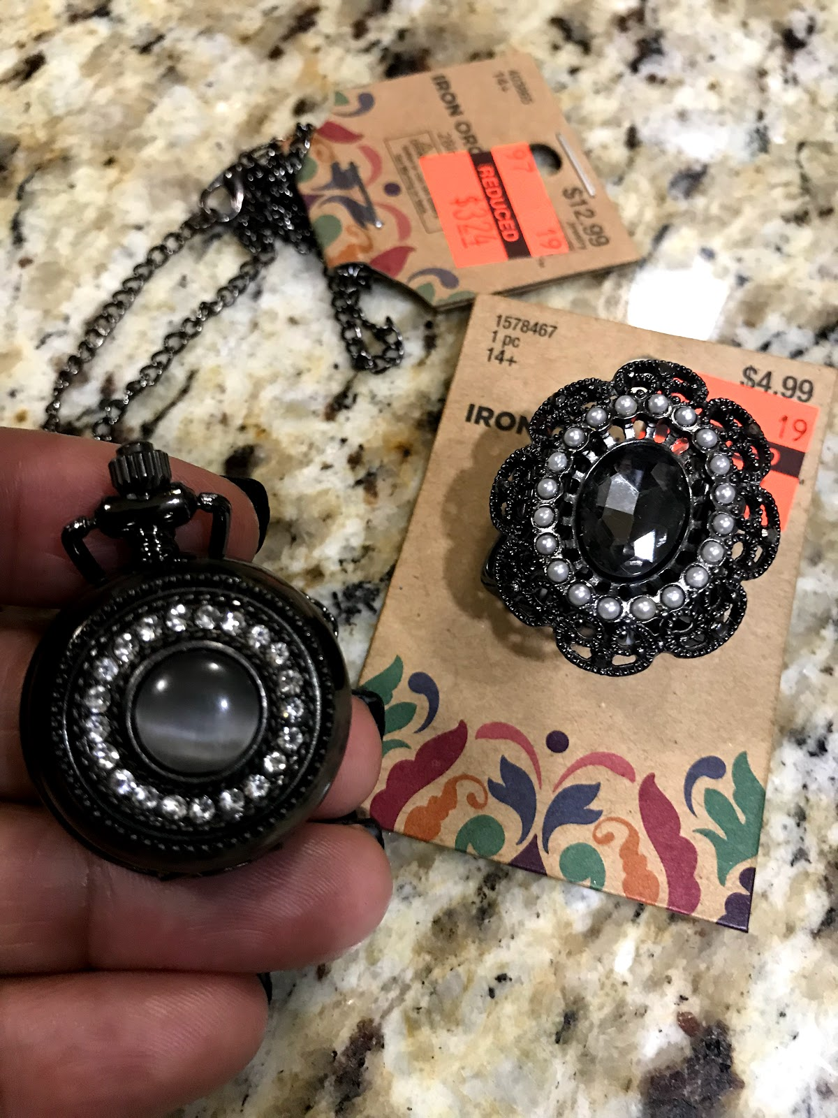 Image: Jewelry on sale at Hobby Lobby