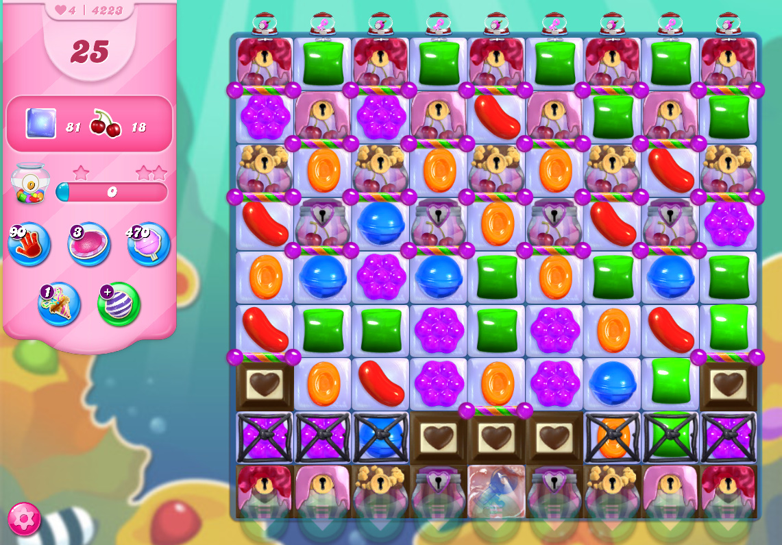 Candy Crush Saga level 4223