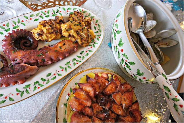 Ostras Fritas en Nuestro Menú de Noche Vieja 2019 en Boston