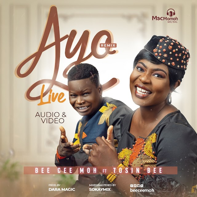 "BEE CEE MOH Premieres ""AYO"" REMIX (Live) feat. TOSIN BEE - New Single and Video 