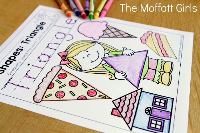 Teach number concepts, colors, shapes, letters, phonics and so much more with the October NO PREP Packet for Preschool!