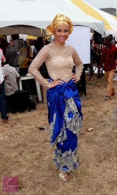 Official photos from Monalisa Chinda's traditional wedding