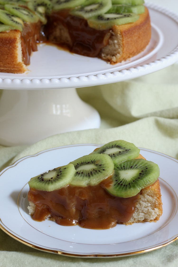 Kiwi-Karamell-Kuchen 4