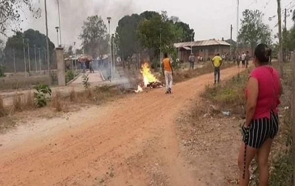 Acusado de assassinar quatro, 'Paraguaio' é detido e queimado por populares em praça