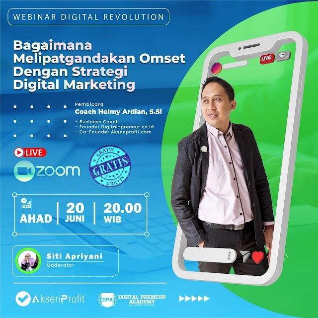 Seminar Online | Digital Revolution, Yuk Kita Ikuti Bersama