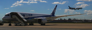 ANA Dreamliners at Haneda Airport as ANA sets to expand service to Ho Chi Minh City