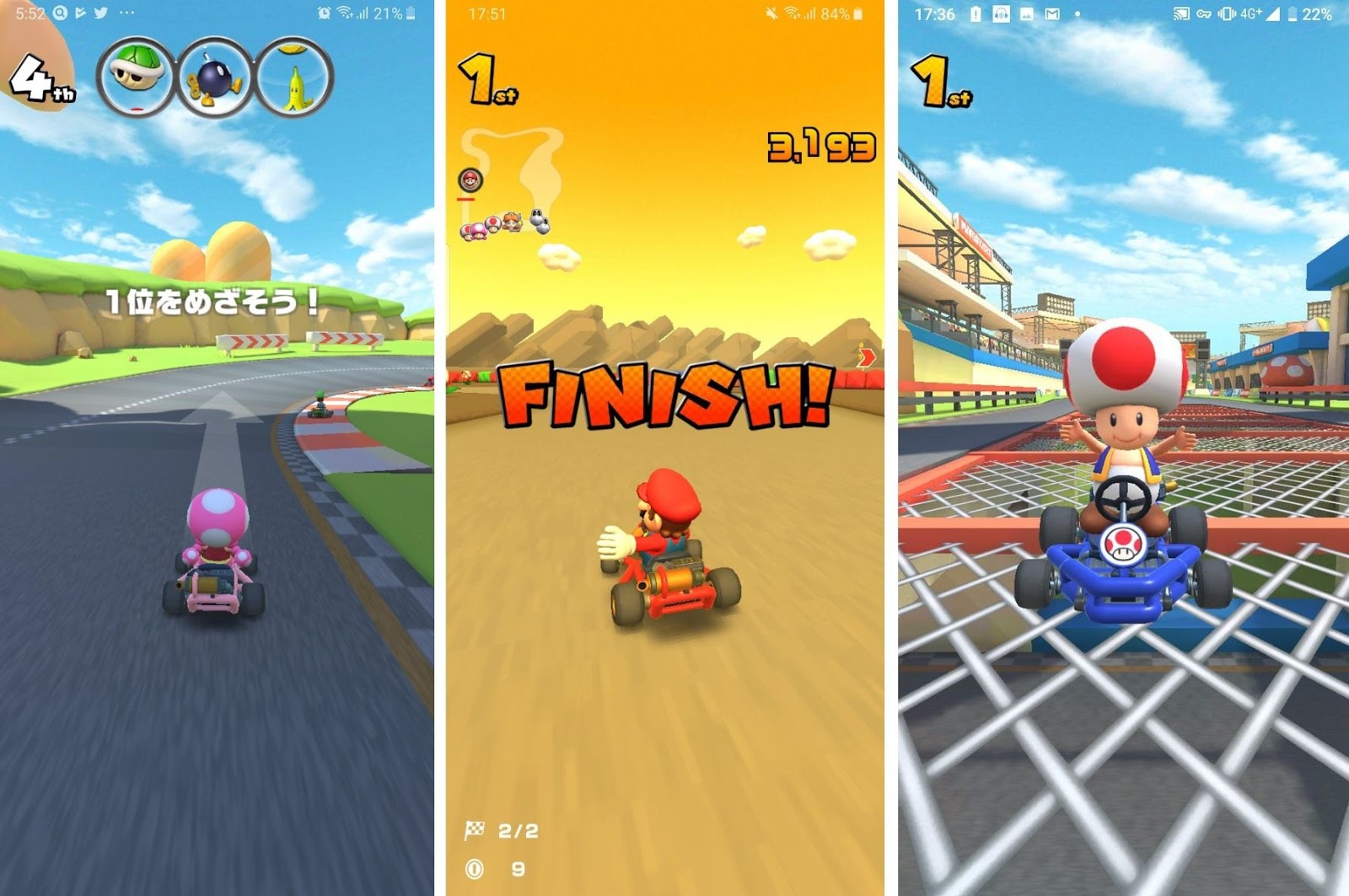 iOS 瑪利歐賽車