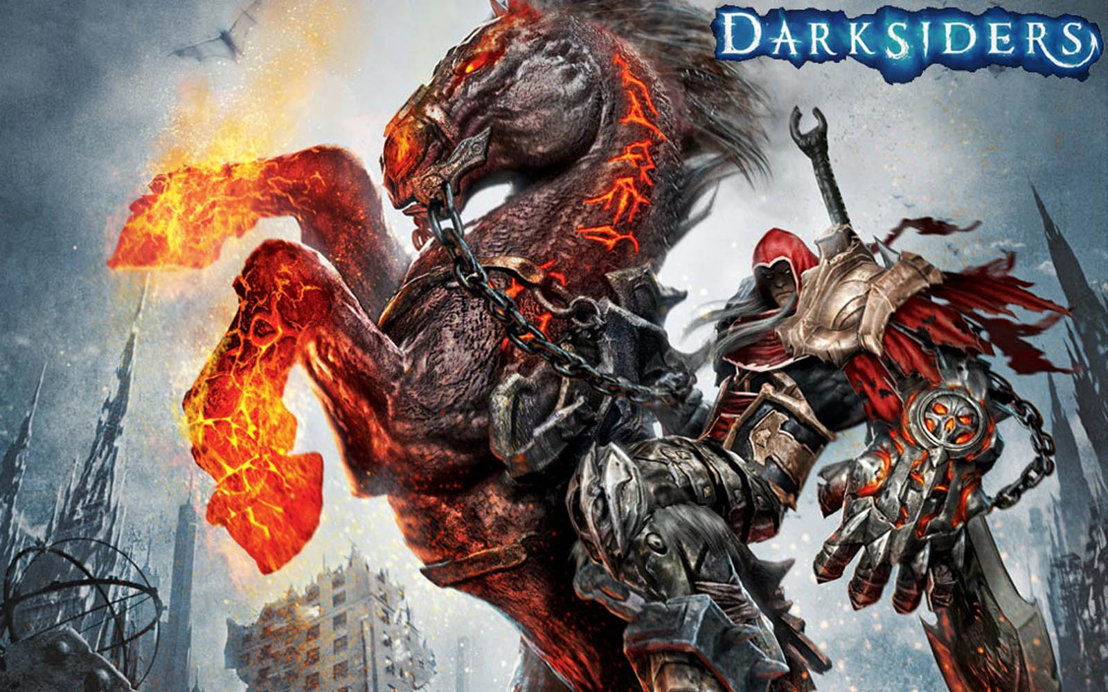 Darksiders War Wallpaper By: Wallpapers: Darksiders Game Wallpapers