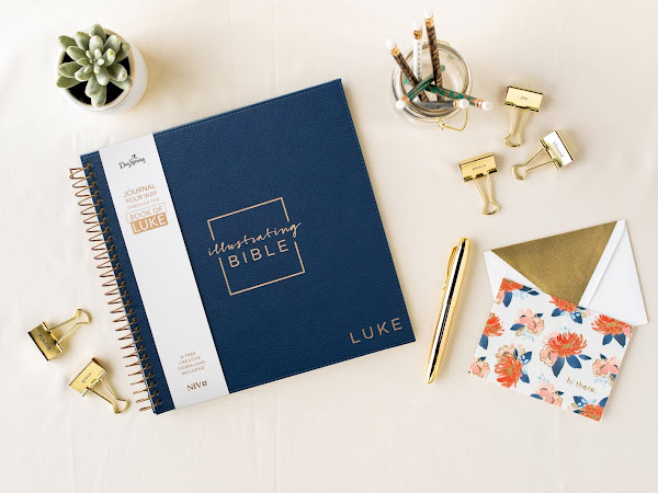 Introducing the Newest Illustrating Bible: The Book of Luke {Pre-Order Now!} #DayspringBibleJournaling