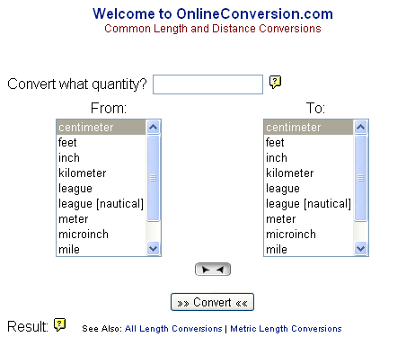 Online Unit Converter From Onlineunitconversion