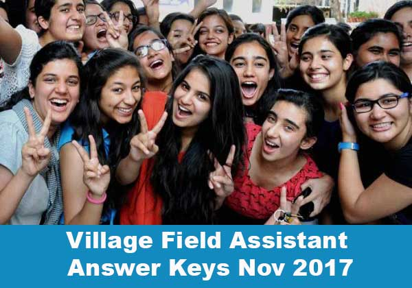 village field assistant answer keys