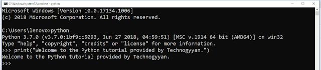 Pythontutorial_technogyyan