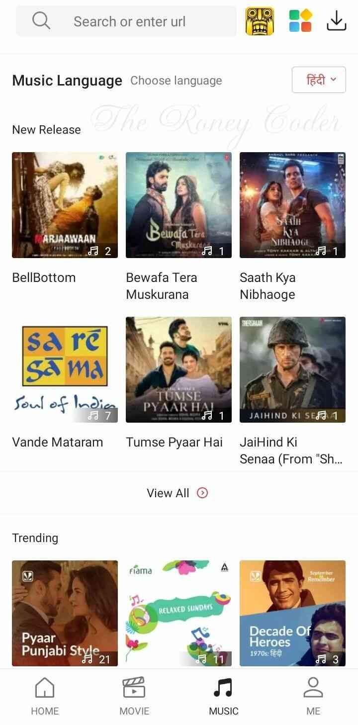 Vidmate App Screenshots 3