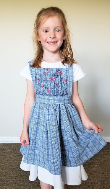 upcycle pinafore