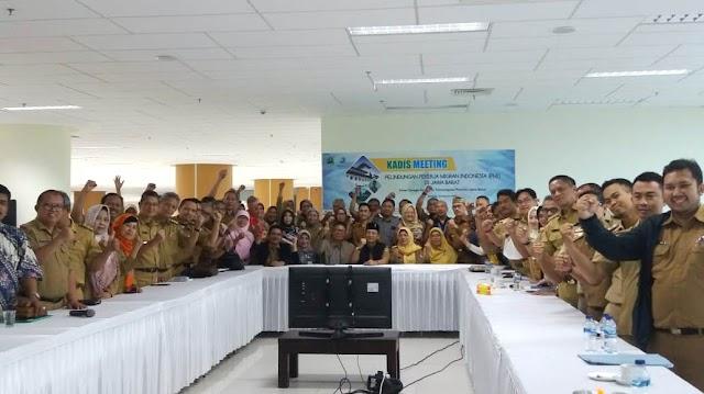 "Sukseskan  Program JMSC, Disnakertrans Jabar Gelar ""Kadis Meeting Plus"" di BIJB Kertajati"