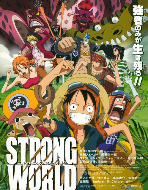 One Piece Film: Strong World BD Subtitle Indonesia