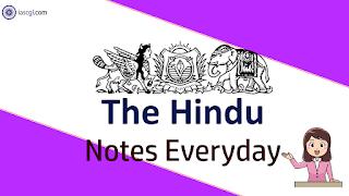 The Hindu Notes 24 April 2019  Important Articles