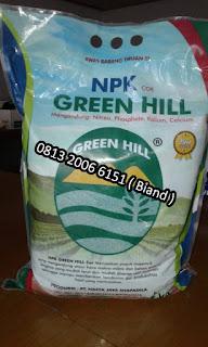 Pupuk NPK Green Hill Cor Kemasan 5 Kg Hasya Jaya