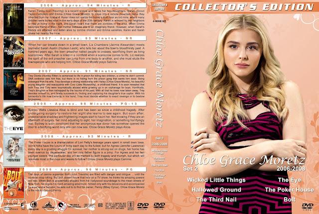 Chloe Grace Moretz Collection Set 2 DVD Cover