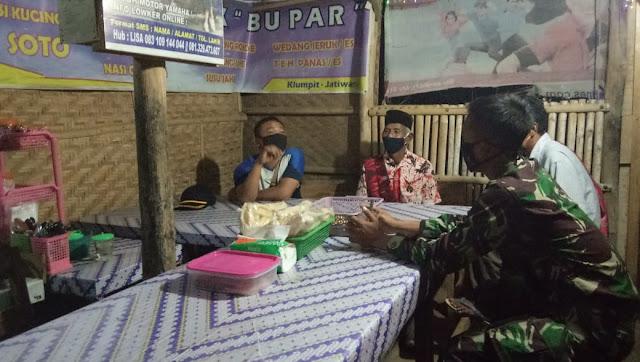 Anjangsana Memompa Semangat Warga Untuk Andil dalam TMMD Reg -109 Jatiwarno