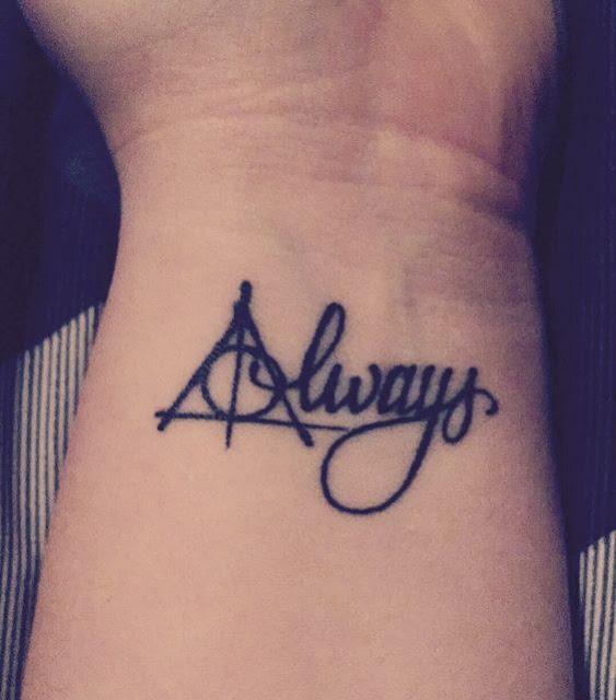 Cute Harry Potter Tattoos