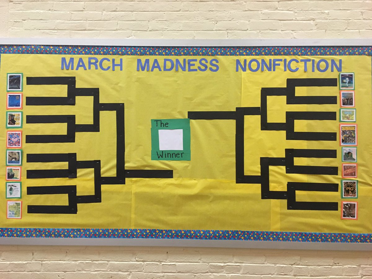 Celebrate Science March Madness Nonfiction