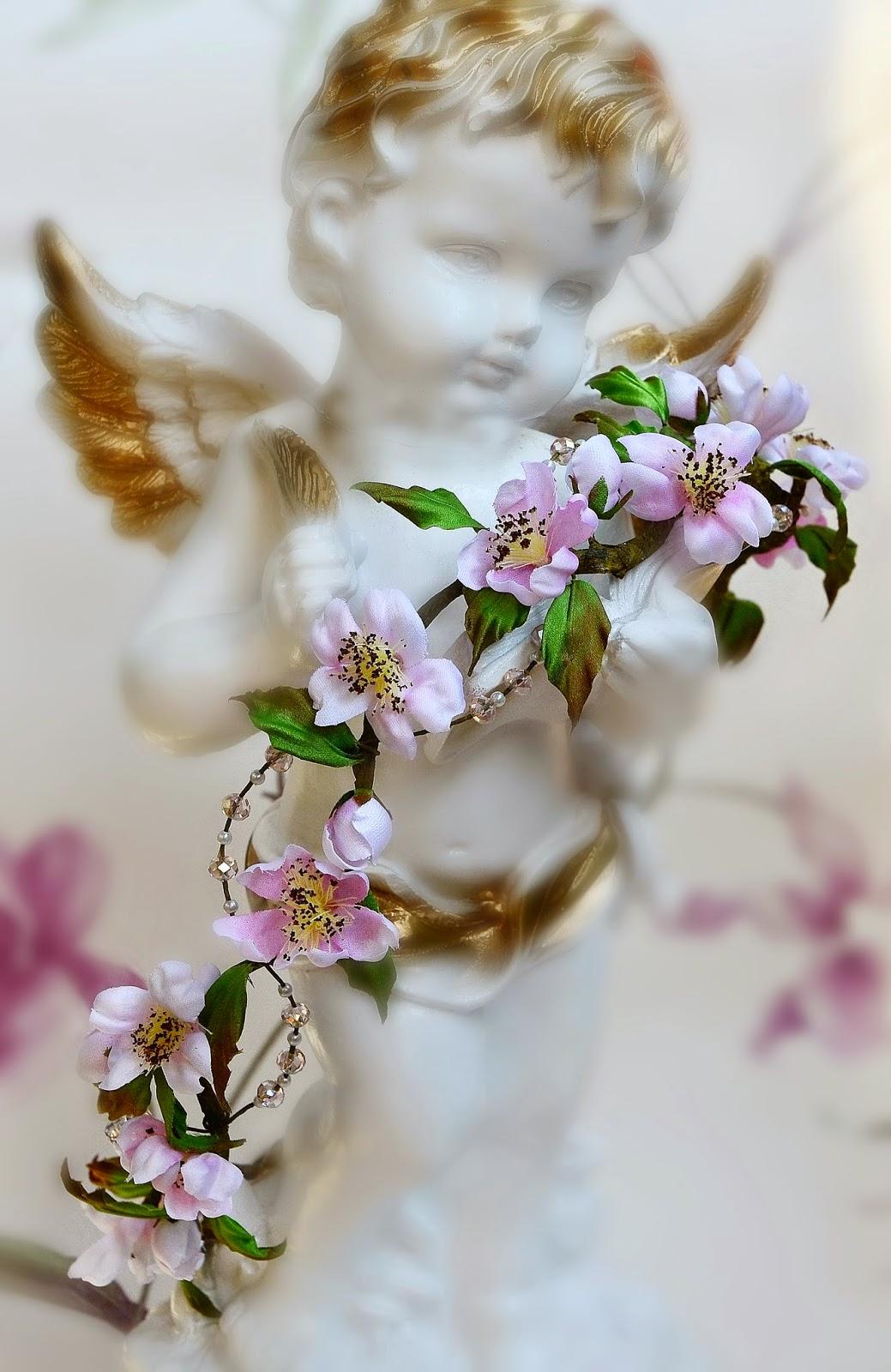 bridal wedding flower crown