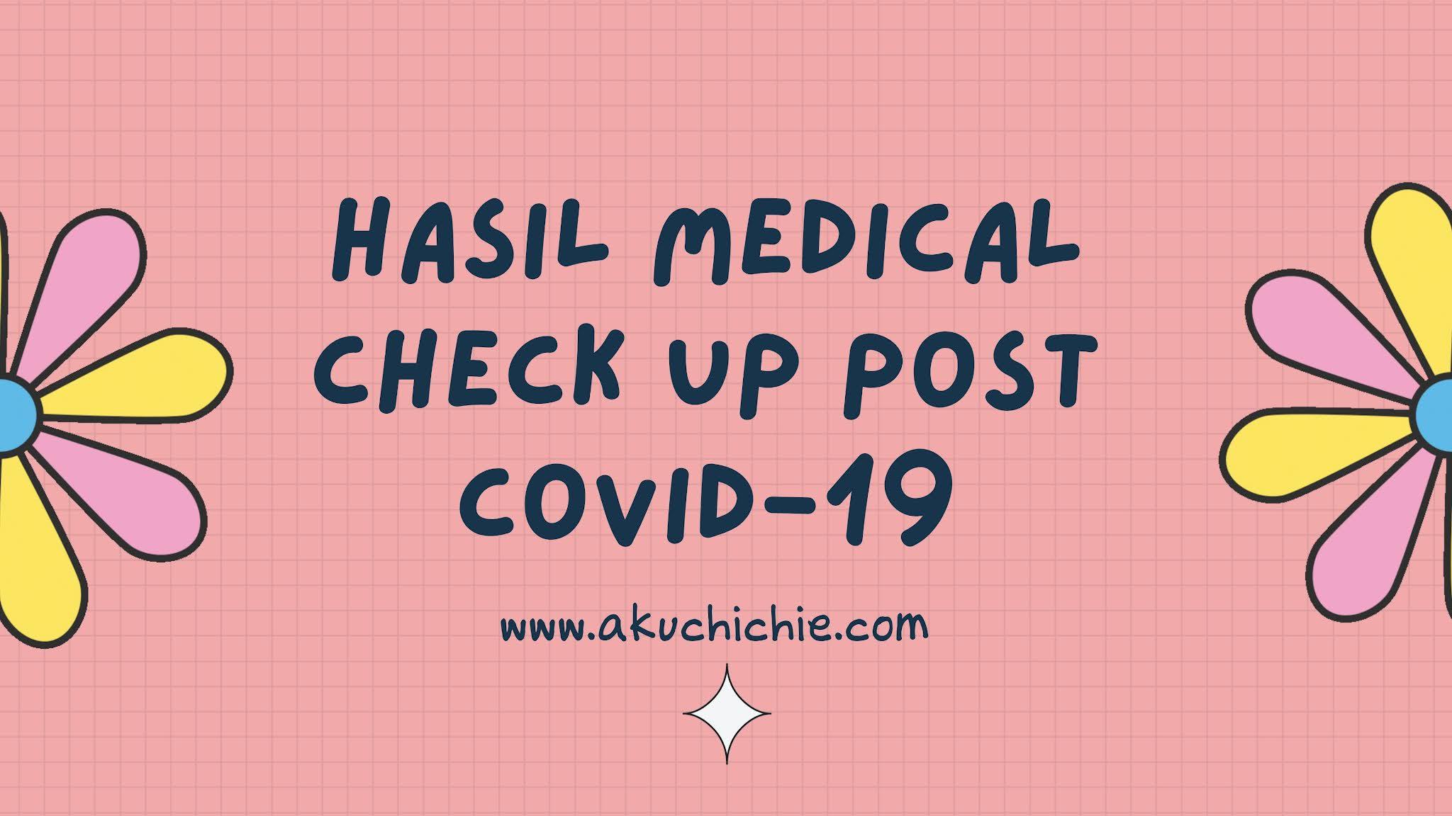 hasil medical check up