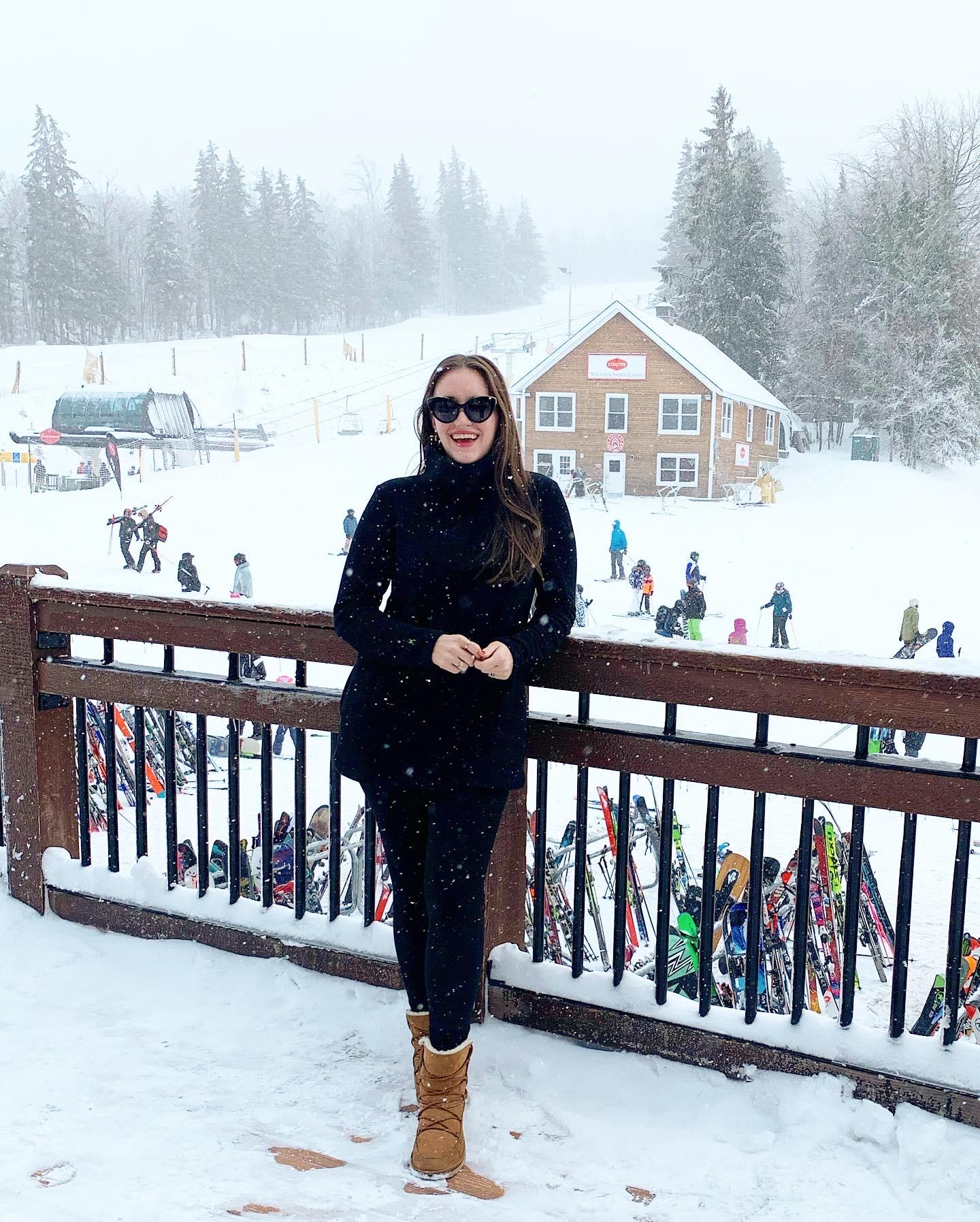 Weekend Update: February 12 snow ski trip 2020