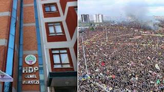 من محبسه.. زعيم الأكراد في تركيا: إغلاق حزب الشعوب جريمة دستورية خطيرة