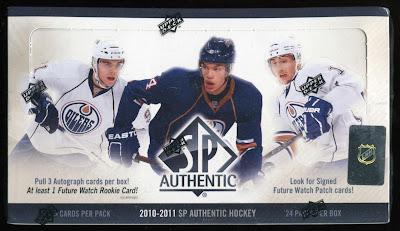 2010-11 SP Authentic Box Break #1