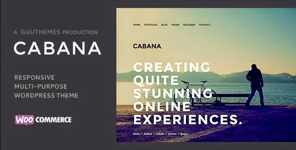 Cabana Responsive Creative WordPress Theme
