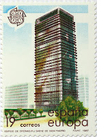 EDIFICIO DEL BANCO BILBAO, CENTRO DE AZCA MADRID