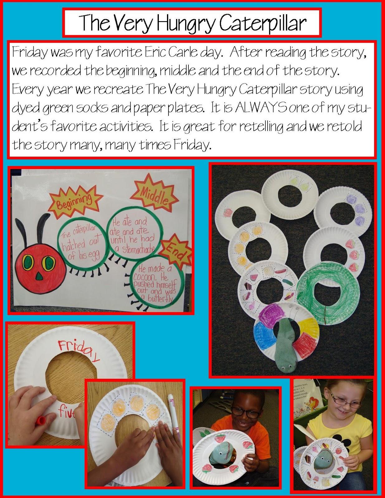 Golden Gang Kindergarten The Very Hungry Caterpillar
