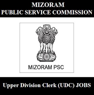Mizoram Public Service Commission, Mizoram PSC, PSC, Mizoram, Upper Division Clerk, UDC, Graduation, freejobalert, Sarkari Naukri, Latest Jobs, mizoram psc logo