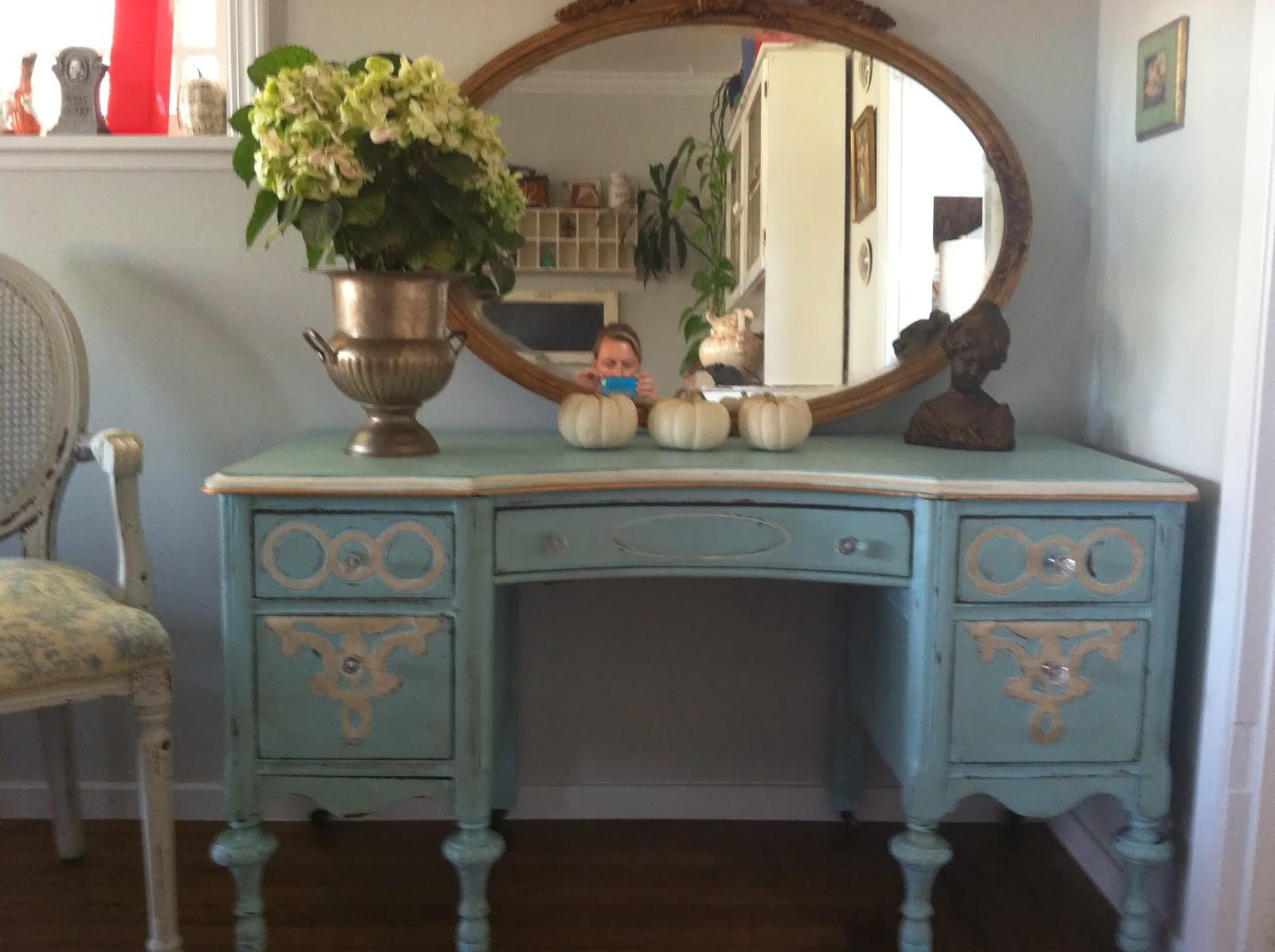 D D S Cottage And Design Tiffany Blue Vanity