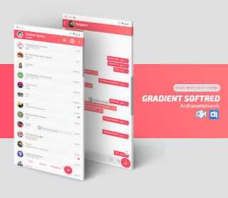 Gradient Soft Red