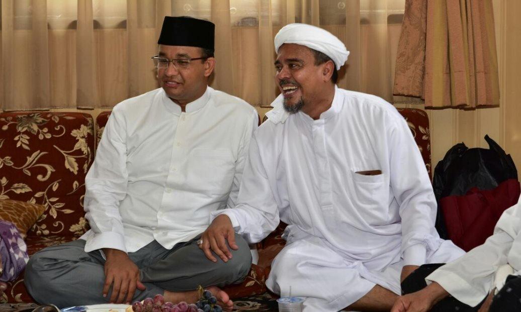 """Usai Bersitegang di Persidangan, Habib Rizieq Titip """"Salam Spesial"""" untuk Anies Baswedan Seorang"""