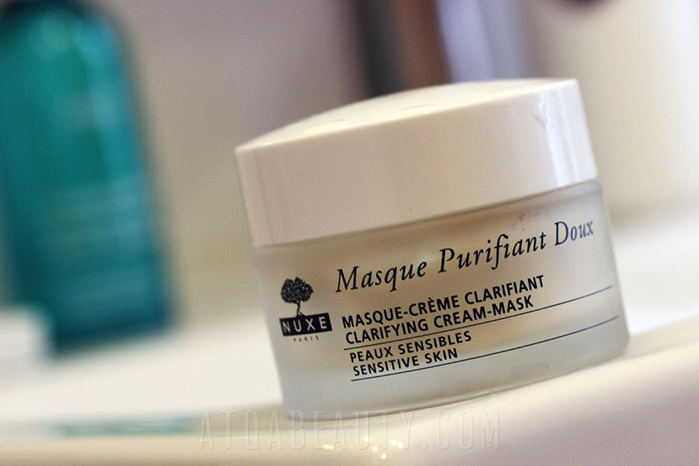 Nuxe Masque Purifiant Doux Nuxe, Delikatnie oczyszczająca maseczka-krem