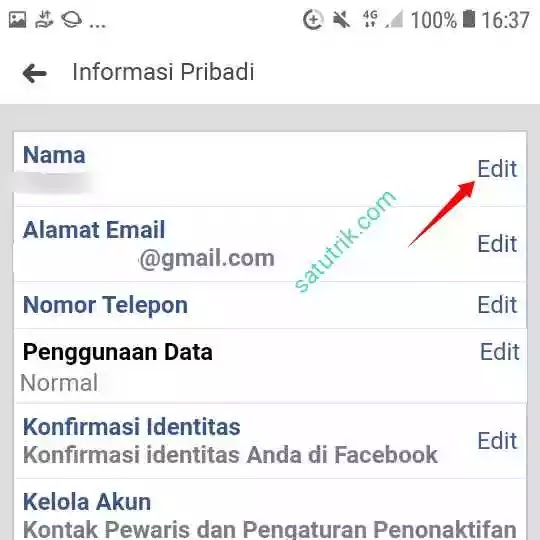 Cara Membuat Akun Facebook Tanpa Nama di FB Lite Lewat HP