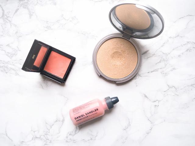 Spring Makeup Essentials, beauty, highlight, blush, eyeshadow, lipstick, review
