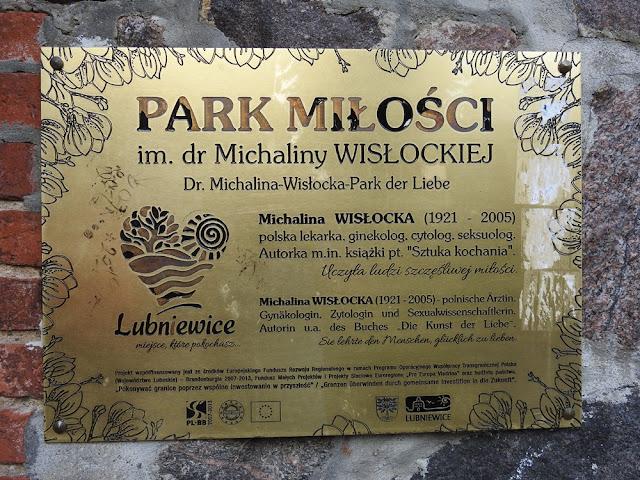 W Lubniewicach jest park nazwany imieniem znanej lekarki.