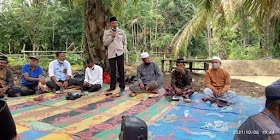 Tradisi Turun Berumo Masyarakat Desa Sekernan Gelar Doa bersama