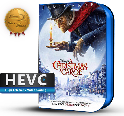Disney's A Christmas Carol (2009) 1080P HEVC-8Bits BDRip Latino/Ingles(Subt.Esp)(Familiar, Animacion)