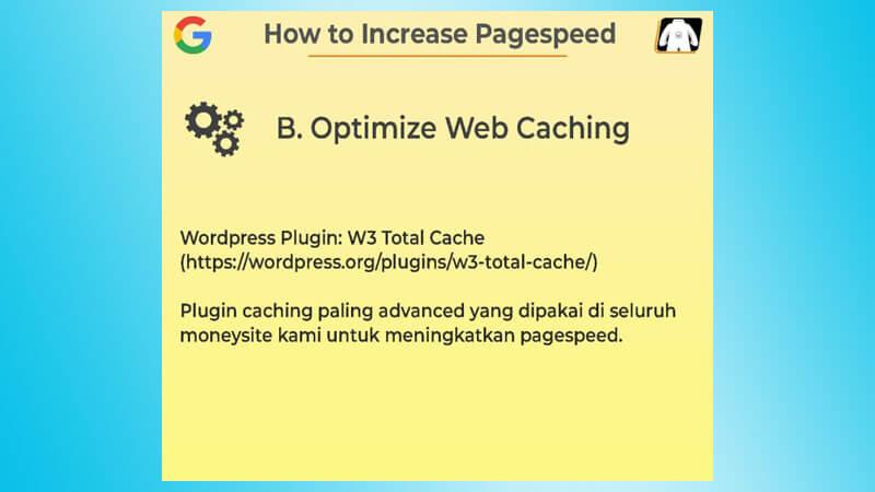 Optimasi Web Cache