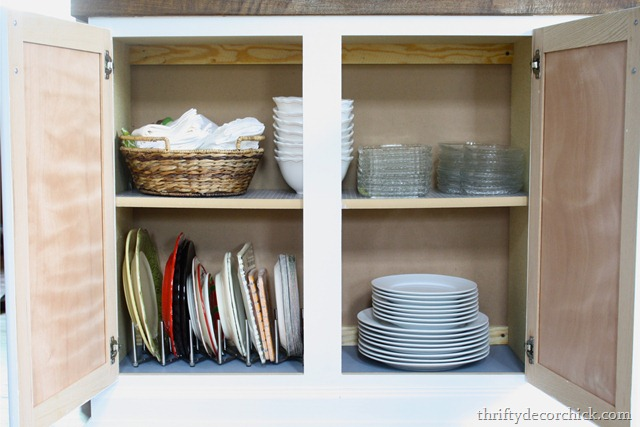 Using cabinets for built ins