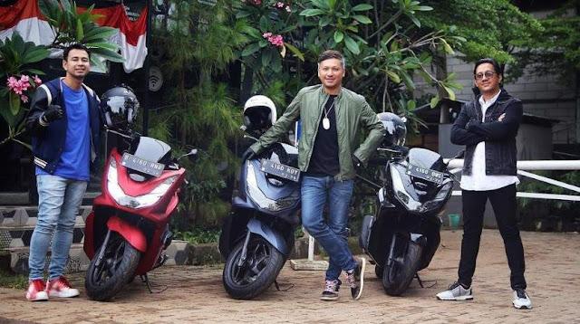Raffi Ahmad Gading Marten Andre Taulany All New PCX160