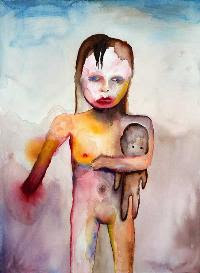 Hand of Glory, pintura de Marilyn Manson.